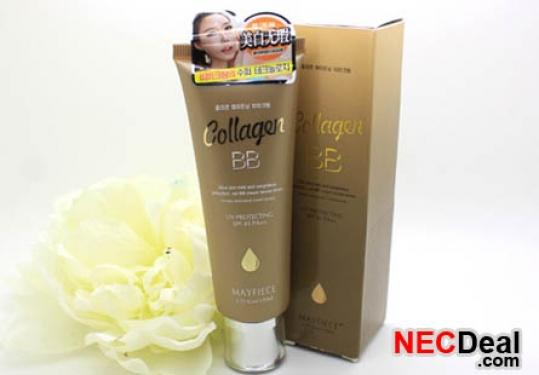 Kem nền BB collagen Mayfiece Hàn Quốc, dưỡng ẩm, chống nắng. Túyp 50ml