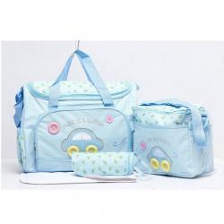 Nhà Đẹp Xinh - Tui Me Va Be Diaper Bags 3in1 Cao Cap Gia Re