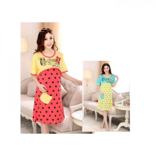 Váy Bầu Sau Sinh Kết Hợp Cho Con Bú NX102