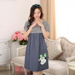 Nhà Đẹp Xinh - Vay Gia Jean Bau Ket Hop Cho Con Bu NX920