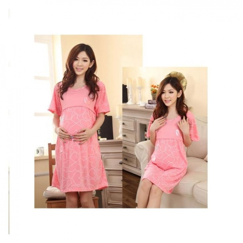 Váy Bầu Cho Con Bú Sweet Heart NX6606