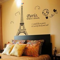 Nhà Đẹp Xinh - Decal Thap Paris Moi NDX1173