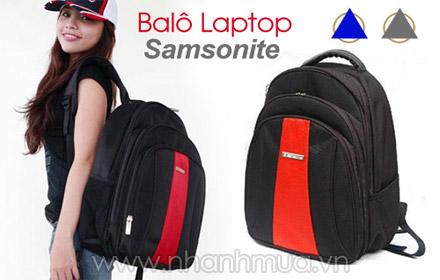 Năng động, sành điệu cùng Balô laptop 3 ngăn kiểu dáng Samsonite thời trang cao cấp...
