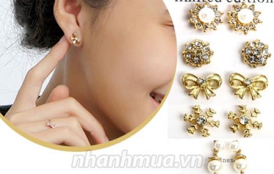 TP.HCM: Rạng ngời, lấp lánh cùng Bộ 5 đôi bông tai thời trang J.CREW – gồm 5 mẫu xinh xắn, ...