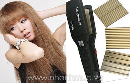 Sáng tạo các kiểu tóc thẳng, xoăn, bồng bềnh, gợi cảm với Máy Uốn duỗi tóc đa năng ...