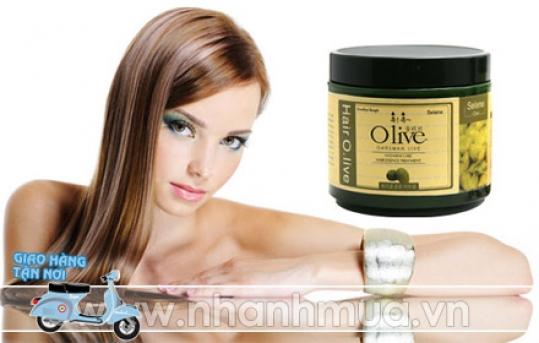 TP.HCM: Mái tóc suôn mượt mà, óng ả với Hấp dầu tóc Olive (930ml) – Hàn Quốc chiết xuất Oli...