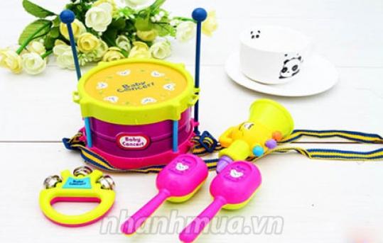 TP.HCM: Nuôi dưỡng năng khiếu nghệ thuật, phát triển tính cách của trẻ với Bộ đồ chơi nhạc ...