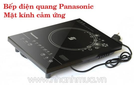 Cao cấp, An toàn, Tiết kiệm điện năng với Bếp điện quang Panasonic mặt kính cảm ứng...