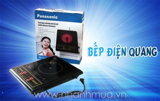 An toàn và tiết kiệm điện năng với Bếp điện quang Panasonic - nhiều tính năng và ch...