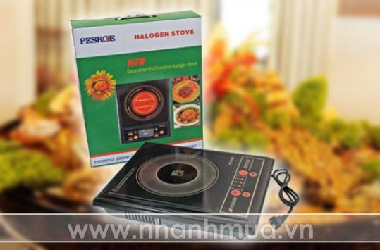 Bếp điện quang PESKOE - An toàn và tiết kiệm điện năng cùng nhiều tính năng ưu việt...