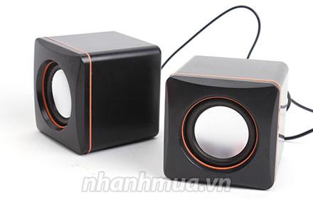Thưởng thức âm thanh sống động, tuyệt vời cùng Bộ 02 Loa xí ngầu mini speaker E101...