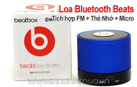 Âm thanh cực đỉnh, thiết kế độc đáo với Loa Bluetooth Beats By Dr.Dre – kết nối khô...