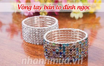 Nhanh Mua - Sang trong va sanh dieu voi Vong tay ban to dinh ngoc – Chat lieu hop kim ben dep, ...