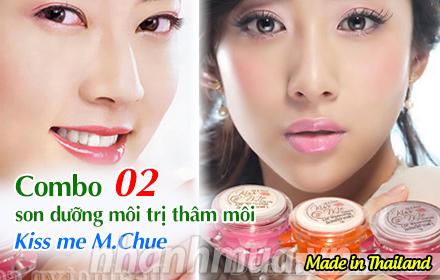 Nhanh Mua - Lan moi tran day suc song voi Combo 2 son duong moi tri tham moi Kiss me M.chue – C...