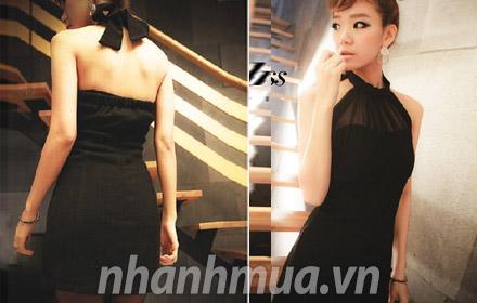 Nhanh Mua - The hien phong cach thoi trang sanh dieu, goi cam voi Dam yem Ana Han Quoc - Chat l...