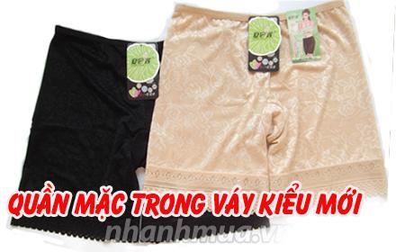 Nhanh Mua - Quan mac trong vay kieu moi – Chat lieu thun lanh mem min, co gian 4 chieu, mau sac...
