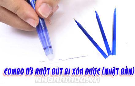 bút bi xóa được pilot frixion nhật bản