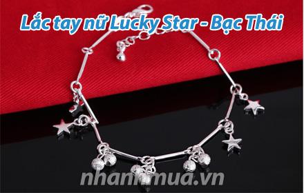 Nhanh Mua - To diem ban tay xinh voi Lac tay nu Lucky Star (Bac Thai S925) – Kieu dang xinh xan...