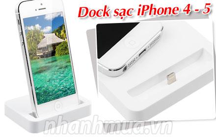 Nhanh Mua - Tien dung va doc dao voi Dock sac iPhone 6 – De dang ket noi voi may tinh de dong b...