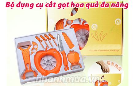 Nhanh Mua - Bo dung cu cat got hoa qua da chuc nang - Duoc san xuat tu chat lieu nhua va thep k...