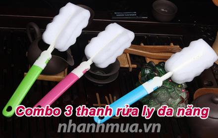 Nhanh Mua - Danh bay vet o kho chiu trong ly voi Combo 3 thanh rua ly da nang – Thiet ke tien d...
