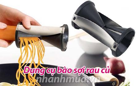 Nhanh Mua - Dung cu bao soi rau cu - Kieu dang an toan cho nguoi su dung, khong gay dut/ tray/ ...