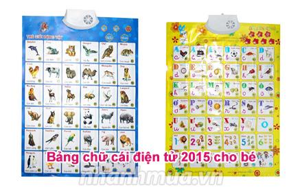 Nhanh Mua - Bang chu cai dien tu 2015 cho be - Voi thiet ke dep mat, sinh dong va thong minh, ...