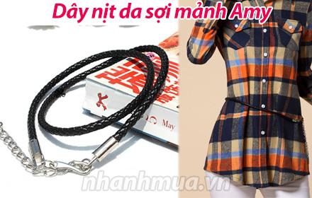 Nhanh Mua - Cho trang phuc them phan ca tinh, nang dong voi Day nit da soi manh Amy – Chat day ...