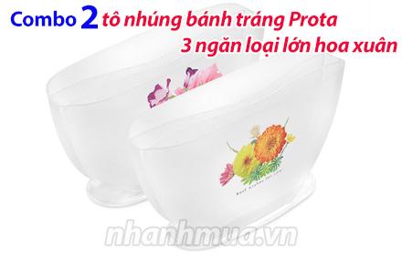 Nhanh Mua - Combo 2 to nhung banh trang Prota 3 ngan loai lon hoa xuan – Chat nhua PP nguyen si...