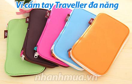 Nhanh Mua - Vi cam tay Traveller da nang la nguoi ban dong hanh ly tuong giup ban khong con lo ...