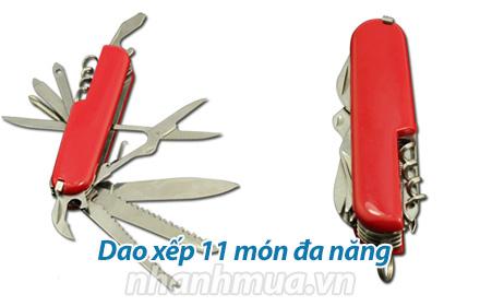 Nhanh Mua - Dao xep 11 mon da nang - Chat lieu thep khong gi khong gi cao cap, cung, do ben ca...