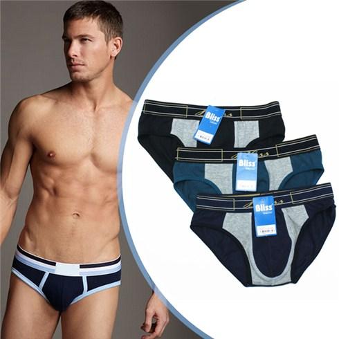 Combo 3 quần lót nam Bliss BLA030