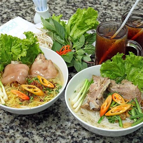 2 tô Bún bò/Hủ tiếu/Bún mộc/Phở + 2 ly nước ngọt - Quán Bún Ngon