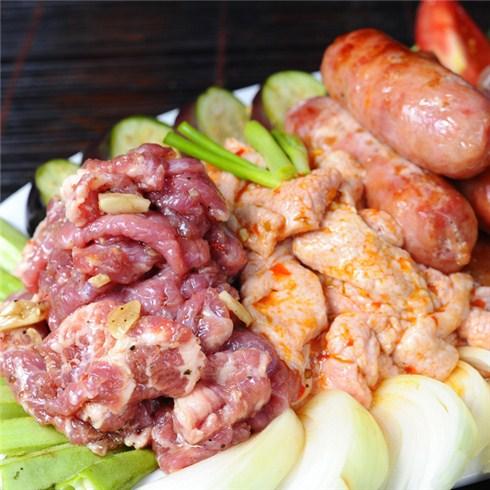 Quán Bò Nướng Sóc Heo - Set món nướng và Lẩu Thái 4 - 6 người