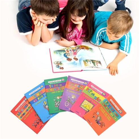 Bộ sách nhâm nhi triết cho bé (6 cuốn)