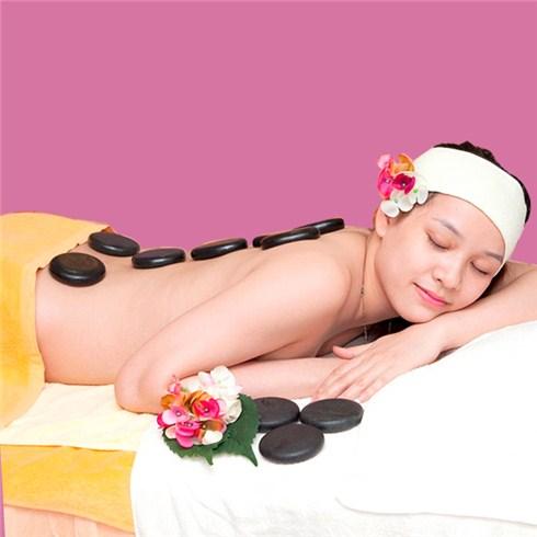Chăm sóc mặt + massage body đá nóng 100 phút tại Sansho Japan Spa