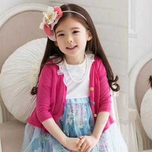 Áo khoác cardigan thu đông cho bé gái