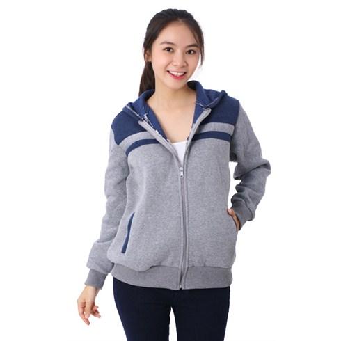 Áo khoác Mix color cho bạn gái