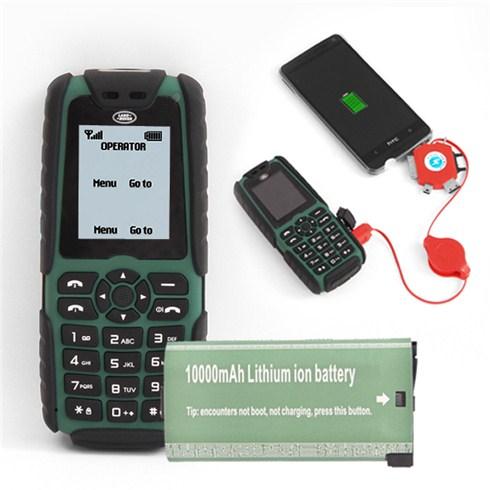 Điện thoại Land Rover pin 10000mAh kiêm sạc dự phòng - BH 6 tháng