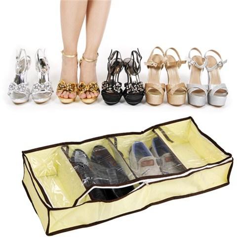 Combo 2 túi đựng giày 4 ngăn tiện ích