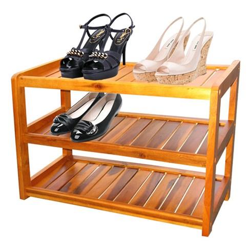 Kệ giày bằng gỗ cao cấp tiện dụng