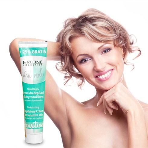 Kem tẩy lông chân, tay, nách, bikini Eveline - Nhập khẩu Ba Lan