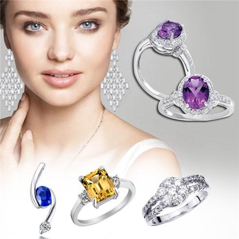 Trang sức vàng bạc đá quý tại cửa hàng trang sức GEO05