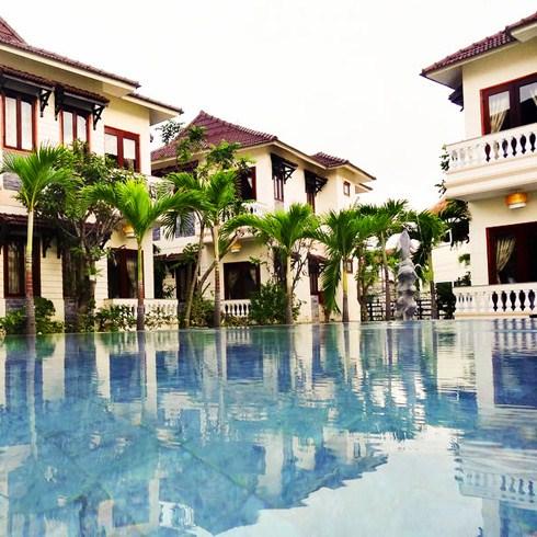 Green Field Villas & Spa Hội An tiêu chuẩn tương đương 4*