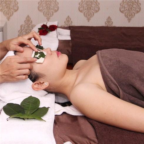 Lì xì Massage, đắp mặt nạ quầng thâm mắt-Spa Trái Cây (miễn tip)