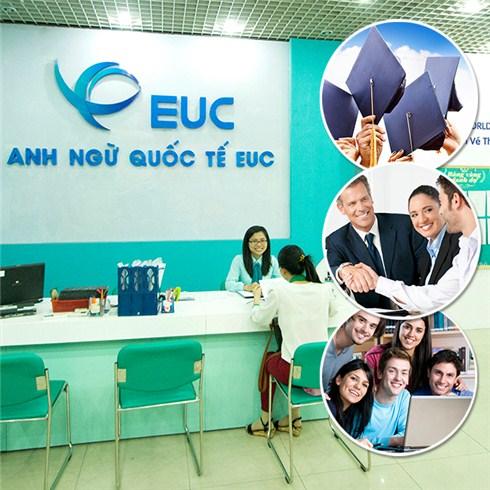 Khóa học anh văn giao tiếp (12 buổi/tháng) - Anh Ngữ Quốc tế EUC