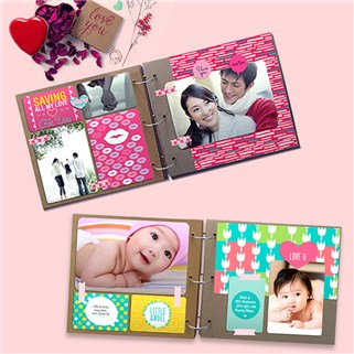 Nhóm Mua - Scrapbook 40 trang luu giu ki niem (20.5x18.5cm) tai PhotoStory