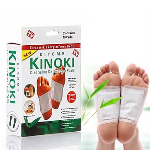 Combo 10 miếng dán khử độc bàn chân Kinoki