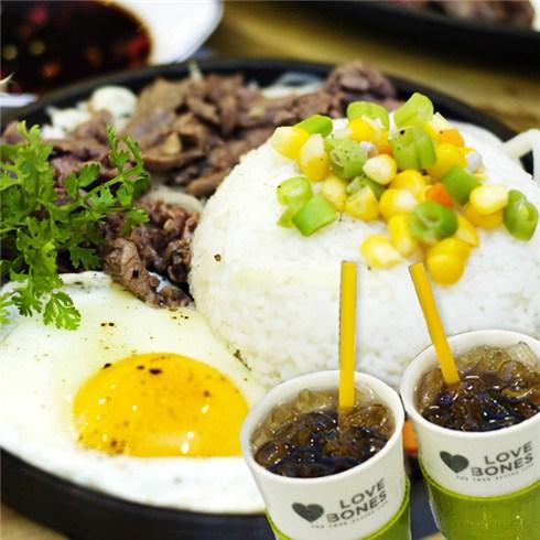 Combo 2 cơm bò chảo gang Malaysia + 2 Pepsi tại Đầu Bếp Nhỏ