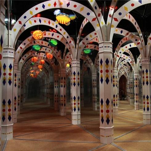 Combo 02 vé khám phá mê cung Mirror Maze tại Times City
